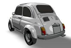 Fiat 500 (vetor) Imagens de Stock