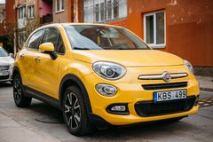 Free Fiat 500X Or Type 334 Is A Hatchback Crossover Sport Utility Veh Stock Images - 126065654