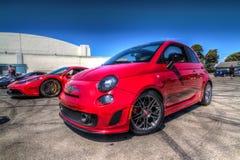 Fiat 2014 500 Photo libre de droits