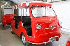 Fiat 600 Multipla gradevolmente, automobili dell'annata Immagine Stock Libera da Diritti