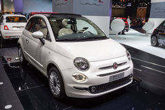 Fiat 2015 500 Photographie stock
