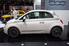 2015 Fiat 500 Royalty-vrije Stock Fotografie