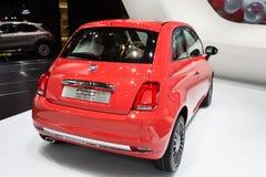 2015 Fiat 500 Royalty-vrije Stock Afbeeldingen