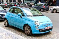 Fiat 500 Royalty-vrije Stock Afbeeldingen