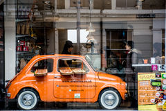 Fiat 500 Fotografia Stock Libera da Diritti