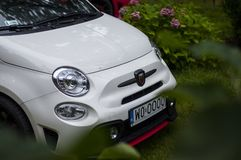 Fiat 500 abarth Stockbild