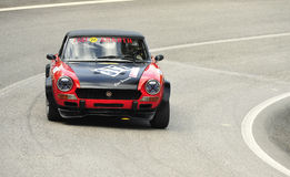 Fiat Abarth 124 Verzameling Stock Foto