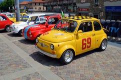 FIAT 500 Abarth Arkivbilder