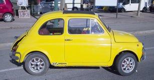 Fiat 500 abarth Royalty-vrije Stock Afbeeldingen