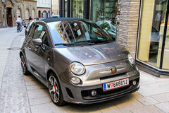 Fiat 500 abarth Royalty-vrije Stock Foto