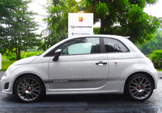 Fiat 595 Abarth Stockbilder