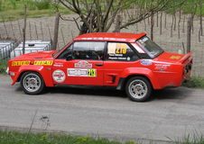 Fiat 131 Abarth Photo stock
