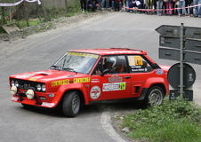 Fiat 131 Abarth Image stock