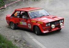 Fiat 131 Abarth Lizenzfreies Stockbild
