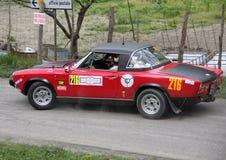 Fiat 124 Abarth Foto de archivo libre de regalías