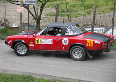 Fiat 124 Abarth Royaltyfri Foto