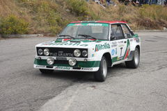 Fiat 131 Abarth Photographie stock