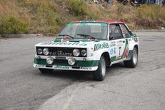 Fiat 131 Abarth Fotografia Stock
