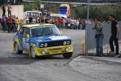 Fiat 131 Abarth Photographie stock libre de droits