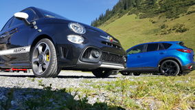 FIAT ABARTH 595 Photos stock