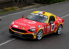Fiat 124 Abarth Stockbild