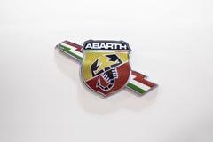 Fiat Abarth bil Royaltyfri Fotografi