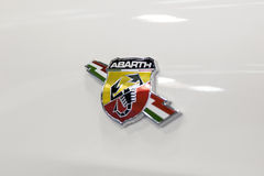 Fiat Abarth bil Royaltyfri Bild