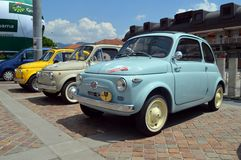 FIAT 500 Abarth Royalty Free Stock Photo