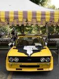 Fiat 131 Abarth en Bérgamo Grand Prix histórico 2017 Fotografía de archivo libre de regalías