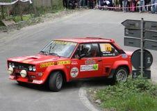 Fiat 131 Abarth Stock Image