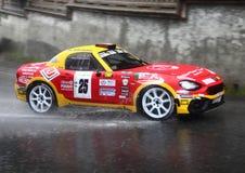 Fiat 124 abarth Royalty Free Stock Photo
