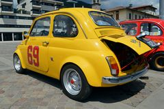 FIAT 500 Abarth Royalty Free Stock Image