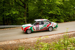 Fiat Abrath 131 sur le rassemblement Hongrie de Miskolc Photographie stock