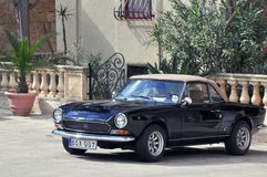 Fiat antiquato Immagine Stock