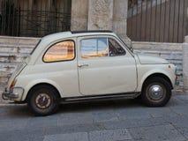 Fiat 500 auto Royalty-vrije Stock Foto's