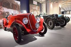 FIAT 508 Balilla sport, år 1933 Royaltyfri Foto