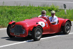Fiat Barchetta 1949 -Vernasca Silver Flag 2011 Stock Photography