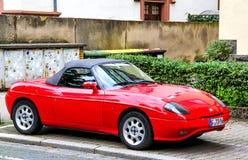 Fiat Barchetta Royalty-vrije Stock Afbeelding