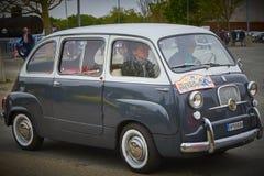 750 Fiat-bestelwagen Royalty-vrije Stock Foto's
