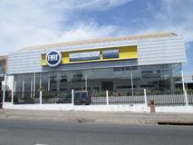 Fiat bilåterförsäljare i Puerto Ordaz Arkivbild