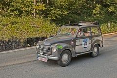 Fiat 500 C Royaltyfria Foton