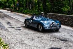 FIAT 508 C BERLINETTA ALA D ` ORO 1947 Stock Afbeeldingen