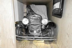 Fiat 522C exposto no museu de Technisches, Viena, Áustria Imagens de Stock Royalty Free