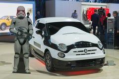 Fiat 500c Storm Trooper Stock Photography