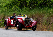 FIAT 514 CA spindelsport 1931 Royaltyfria Bilder