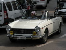 Fiat 1500 cabrio Royalty Free Stock Images