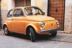 Fiat 500 car Royalty Free Stock Image