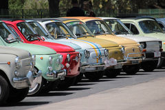 Fiat 500 Club Italia gathering Royalty Free Stock Photography