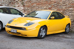 Fiat Coupe  or type 175 a coupe sports car Stock Image