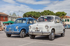 Fiat d'annata 600 Fotografia Stock Libera da Diritti